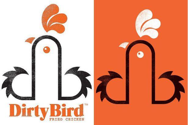 logos fálicas dirty bird
