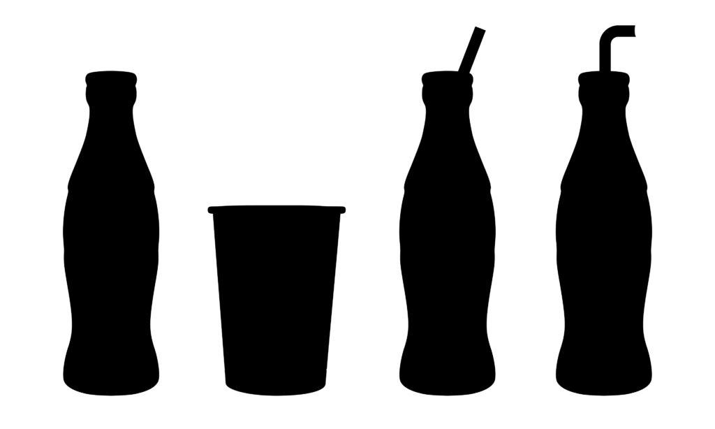 identidade visual da coca